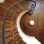 Menlo Park stair walnut treads - 2