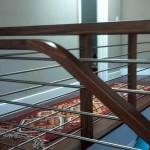 Los Gatos handrail, walnut with stainless steel balusters - 14