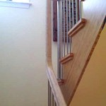 Palo Alto stair and handrail, bamboo with stainless steel posts and balusters - 13